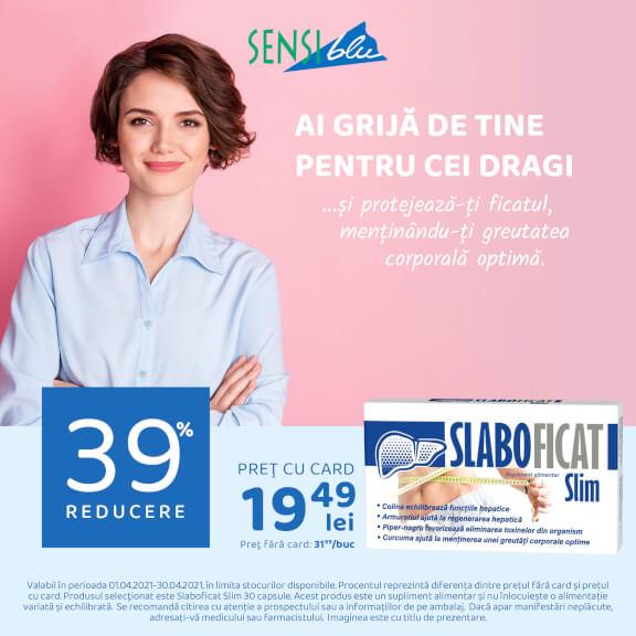SlaboFicat Slim, 30 capsule, Natur Produkt : Farmacia Tei online
